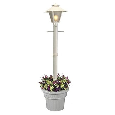 Patio Living Concepts Cape Cod Outdoor 1 Light 80'' Post Light; White