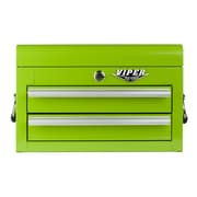 Viper Tool Storage 18''W 2-Drawer Top Chest; Lime Green