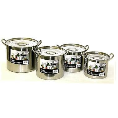 Alpine cuisine 8 piece pot set staples for Alpine cuisine flatware