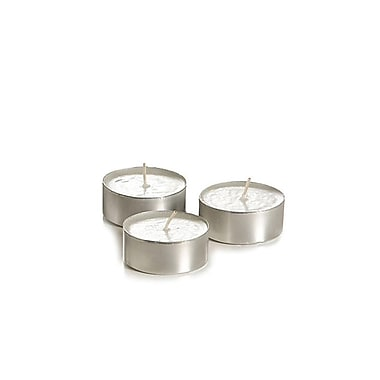 Yummi Unscented Tealight Candles, 5-Hour, 900 Candles/Box