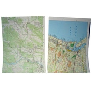 JAM Paper® Map Paper, 8.5 x 11, 24lb Assorted Map Designs, 100/pack (163969C)