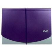 Jam® 9 x 13 Letter Size 13 Pocket Two Tone Accordian Folder, Purple