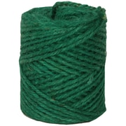 Jam® Spool Of Kraft Twine Roll, Green, 73 yds