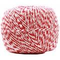Jam® Baker's Twine Roll, Red/White, 500 yds.