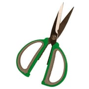 JAM Paper 3238519115 Sharp Tip Sewing Scissors, Beige/Green
