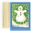 Jam® Warm Wishes Christmas Card Set With 18 Cards and Envelopes, Tropical Snowman