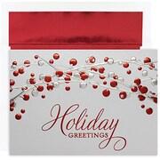 JAM Paper® Christmas Holiday Cards Set, Winter Wonderland, 16/pack (526M0814MB)