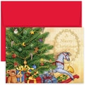 Jam® Home for the Holidays Card Set With 18 Cards and Envelopes, Rocking Horse