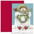 Jam® Home for the Holidays Card Set With 18 Cards and Envelopes, Wintery Friends