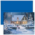 Jam® Home for the Holidays Card Set With 18 Cards and Envelopes, Coming Home