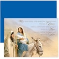 Jam® Peace and Joy Christmas Card Set With 18 Cards and Envelopes, Holy Family Journey