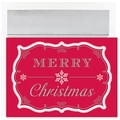 Jam® Peace and Joy Christmas Card Set With 16 Cards and Envelopes, Merry Christmas Greetings