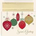 Jam® Peace and Joy Christmas Card Set With 16 Cards and Envelopes, Christmas Ornaments