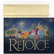 Jam® Peace and Joy Christmas Card Set With 18 Cards and Envelopes, Rejoice Bethlehem
