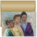 Jam® Christmas Card Set With 18 Cards and Envelopes, Three Heavenly Angels