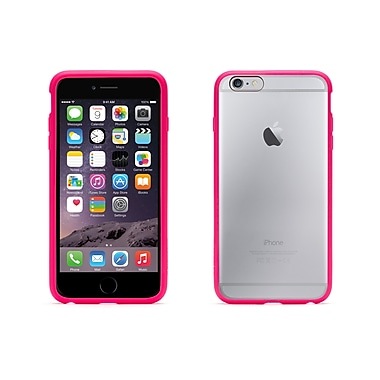 Griffin iPhone 6 Plus Reveal Case, Pink/Clear
