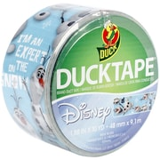 "ShurTech Disney-Licensed 1.88"" x 10 yds. Duck Tape, Frozen-Olaf"