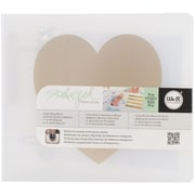 """We R Memory Keepers Teresa Collins Albums Made Easy 3-Ring Album, 4"""" x 4"""", Heart"""