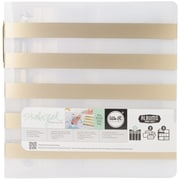 We R Memory Keepers Teresa Collins Albums Made Easy 3-Ring Album, 8 1/2 x 11, Stripe