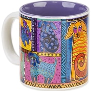 Laurel Burch® Artistic Collection Mug, Dog Tails Patchwork