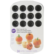 Wilton® 24 Cavity Pumpkin Mini Muffin Pan