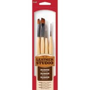 Plaid:Craft Leather Studio Decorative Brush Kit