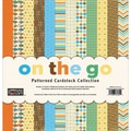 Paper Loft On The Go Cardstock, Patterned, 12in. x 12in.