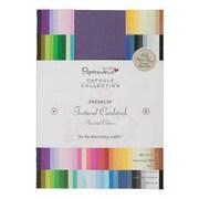 "Docrafts® Papermania Premium Textured Solid Cardstock Pack, Multi, 8 1/4"" x 5 3/4"""