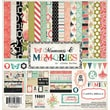 Echo Park Paper Carta Bella™ Moments & Memories Collection Kit, 12in. x 12in.
