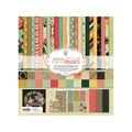 Fancy Pants Burlap & Bouquets Collection Kit, 12in. x 12in.