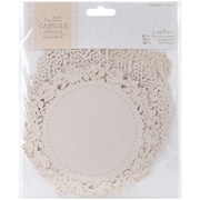 "Docrafts® Papermania Die-Cut Lace Paper Set, Oyster Blush, 5 1/2"" x 5 1/2"""
