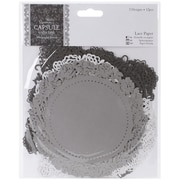 Docrafts® Papermania Die-Cut Lace Paper Set, Midnight Blush, 5 1/2 x 5 1/2