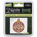 Crafter's Companion Die'sire Christmas Classiques Die, Filigree Bauble, 2in. x 1 3/4in.