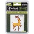 Crafter's Companion Die'sire Christmas Classiques Die, Elegant Reindeer, 3.15in. x 1.8in.