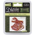 Crafter's Companion Die'sire Christmas Classiques Die, Jingle Bells, 2.8in. x 2.68in.