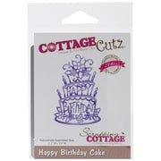 "CottageCutz® Elites Die, Happy Birthday Cake, 2.3"" x 3.5"""