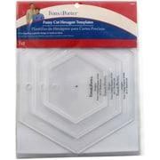 Dritz Fons & Porter Fussy Cut Templates, Hexagons