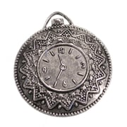 Fabscraps Silver Embellishments, Vintage Clock