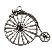 Fabscraps Silver Embellishments, Penny Farthing