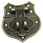 Fabscraps Brass Embellishments, Shield Catch