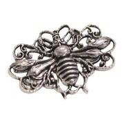 Fabscraps Silver Embellishments, Honey Bees