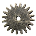 Fabscraps Brass Embellishments, Cogs