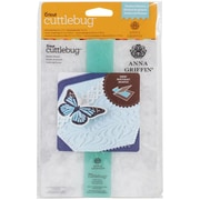 Provo Craft Cricut Cuttlebug™ Embossing Folder/Border Set, Feather Illusion
