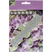 Ecstasy Crafts Joy! Crafts Cutting Emboss And De-Bossing Die, Flowers Strip 1