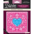 Crafter's Companion Die'sire Create-A-Card Cutting & Embossing Die, Romance
