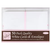 Docrafts® Anita's Cards And Envelopes, A6, White