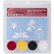 Ruby Red Face Painting Stencil Kit, Bugs