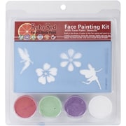 Ruby Red Face Painting Stencil Kit, Fairy