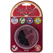 Ruby Red Face Paint, 0.61 oz., Red