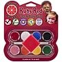 Ruby Red Face Paint Kit, Classic Palette